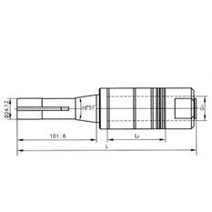 Оправки R8 для отрезных фрез 2160