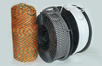 Шнур плетеный полипропиленовый 16-прядный ф12мм