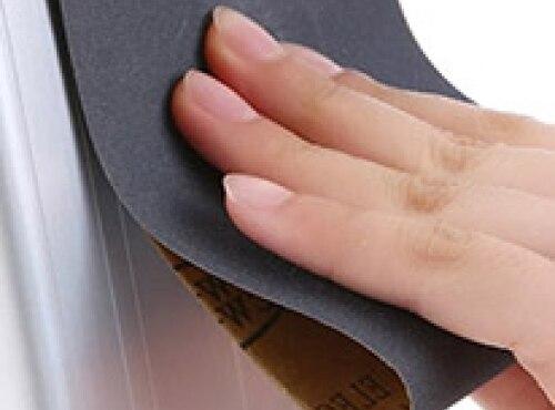 Наждачная бумага: виды и способы применения